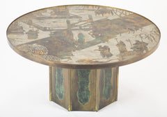 Kelvin & Phillip Laverne Signed Chen Coffee Table