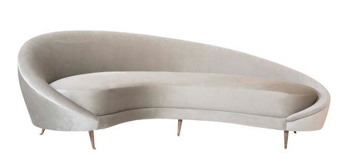 A Italian Mid Century Sofa in the Manner of Federico Munari