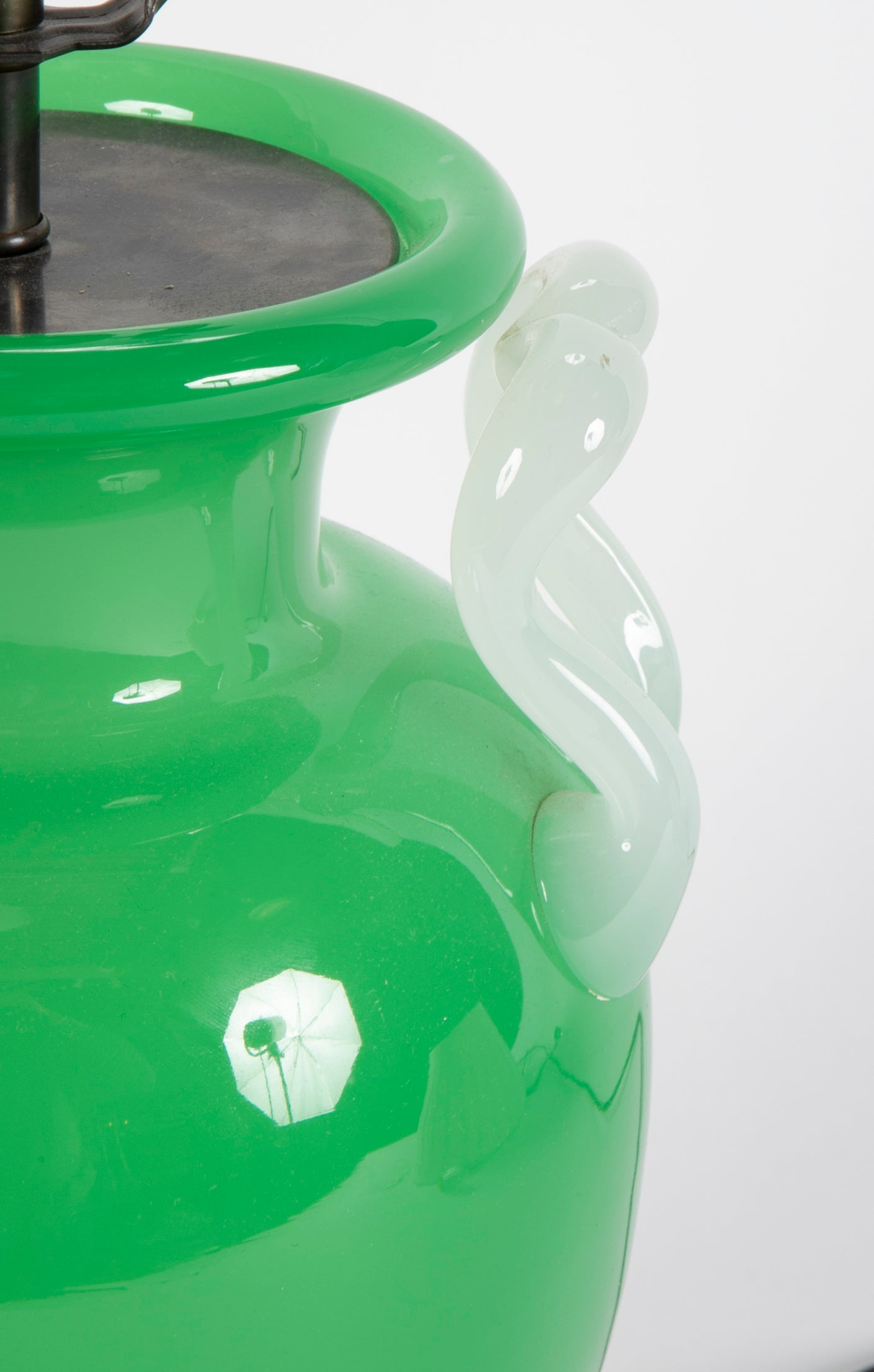 Steuben Glass Vase now a Table Lamp