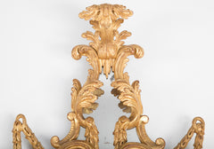 Pair of George III e Light Sconce Mirrors