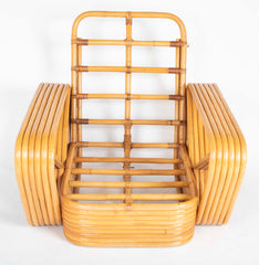 Pair of Rattan Chairs Attributed to Paul Frankl