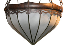 Arts & Crafts Hanging Pendant Fixture