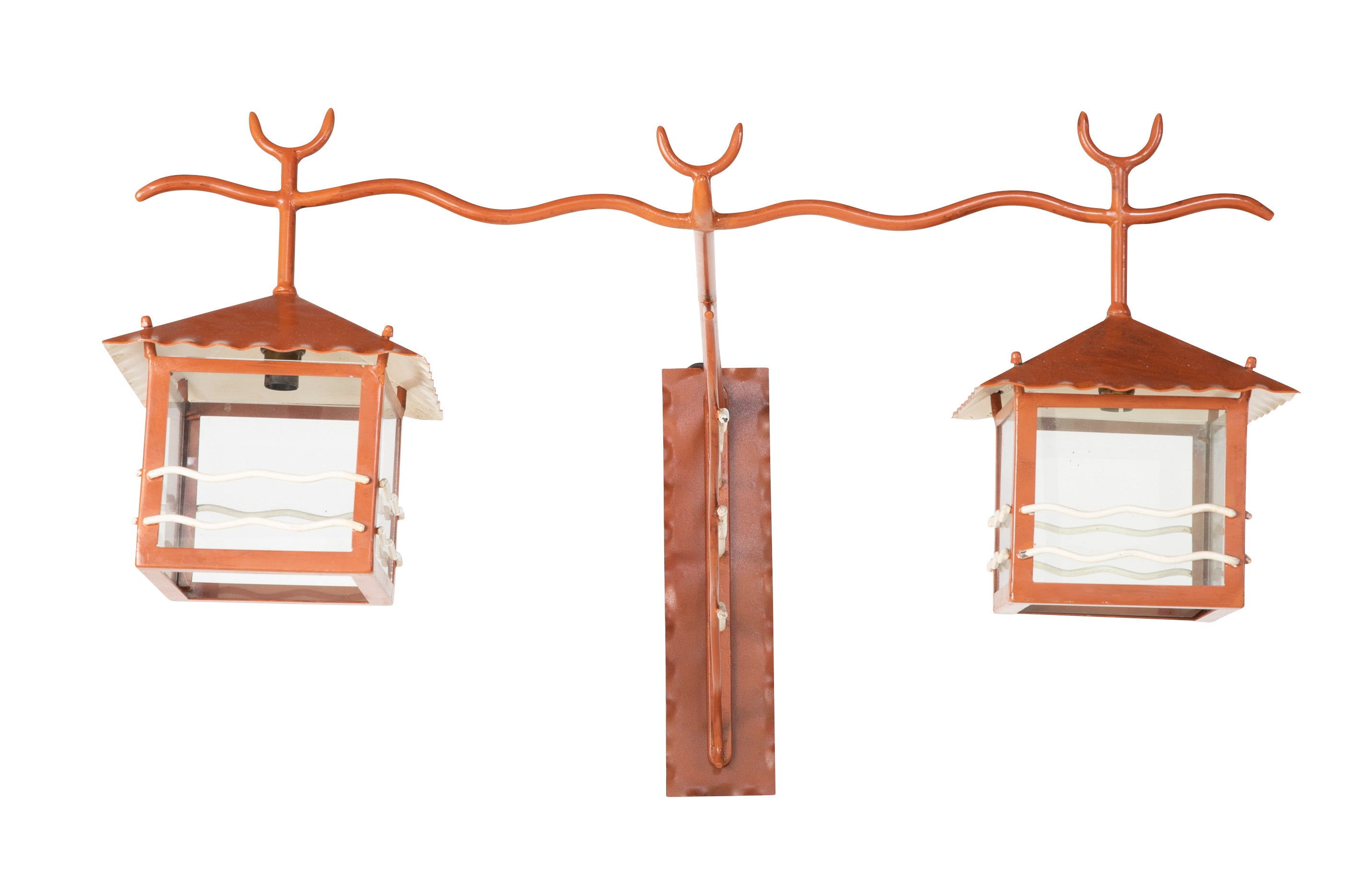 Pair of Exceptional French Sconces in the Manner of Jean Royere