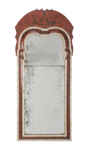 Late 18th Century Queen Anne Chinoiserie Mirror