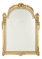 English Georgian Carved & Gilt Mirror
