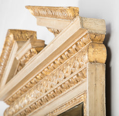 George II Broken Arch Pediment Mirror