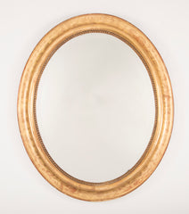 Oval Louis Phillippe Mirror