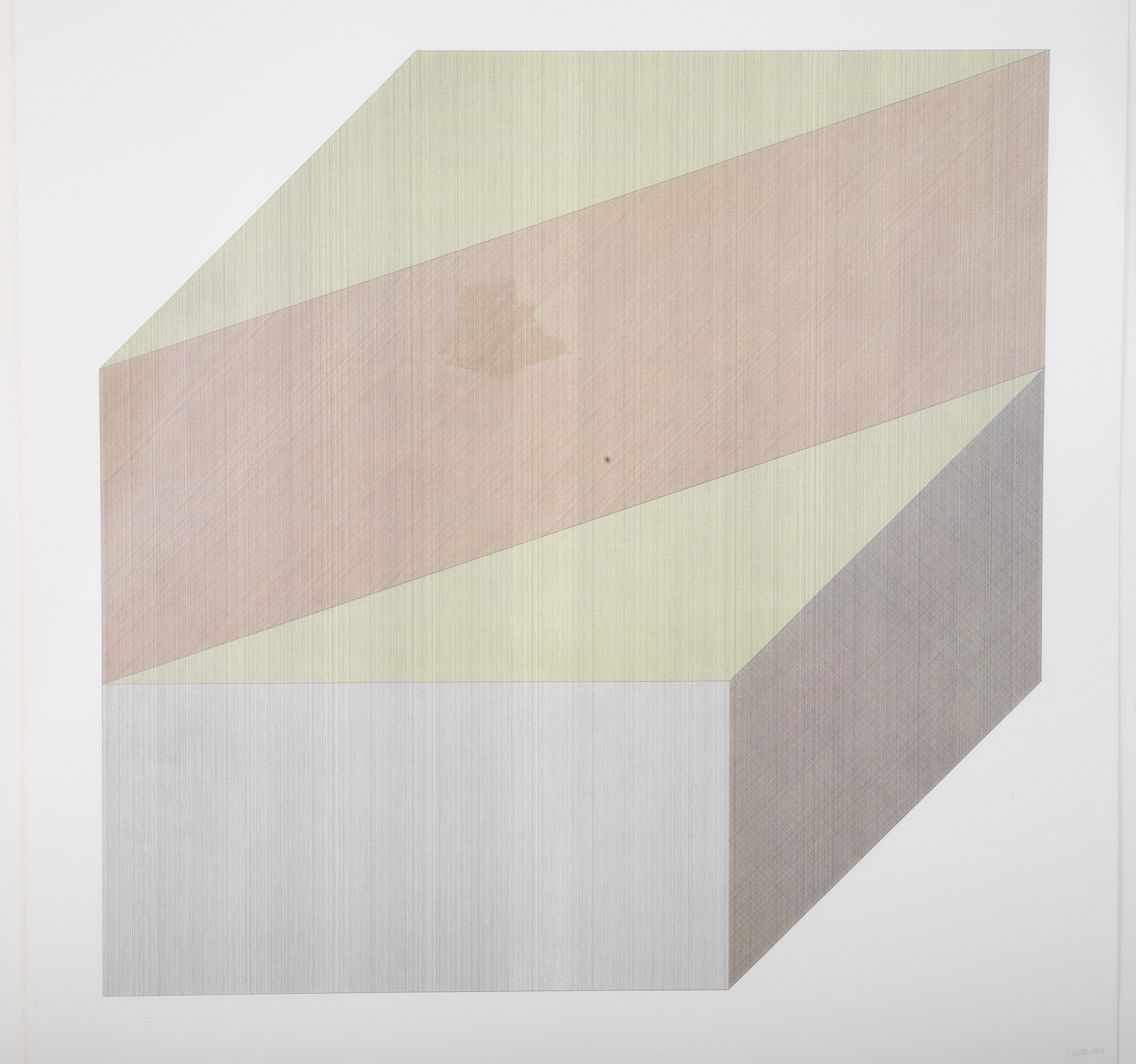 "Sol LeWitt ""Form Derived From A Cube"""