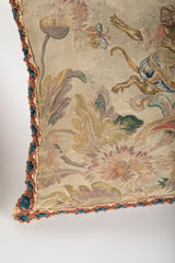 A Matched Pair of Aubusson Tapestry Pillows