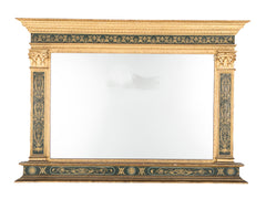Italian Neo-Classical Overmantle Mirror