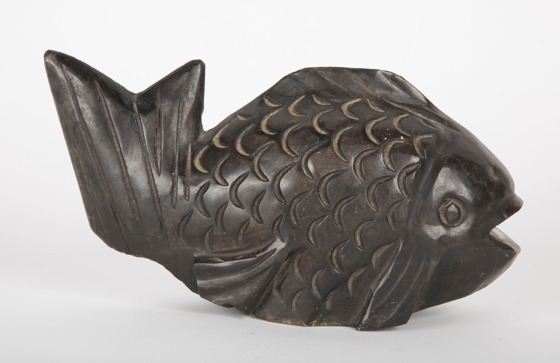 Chinese Carved Stone Fish