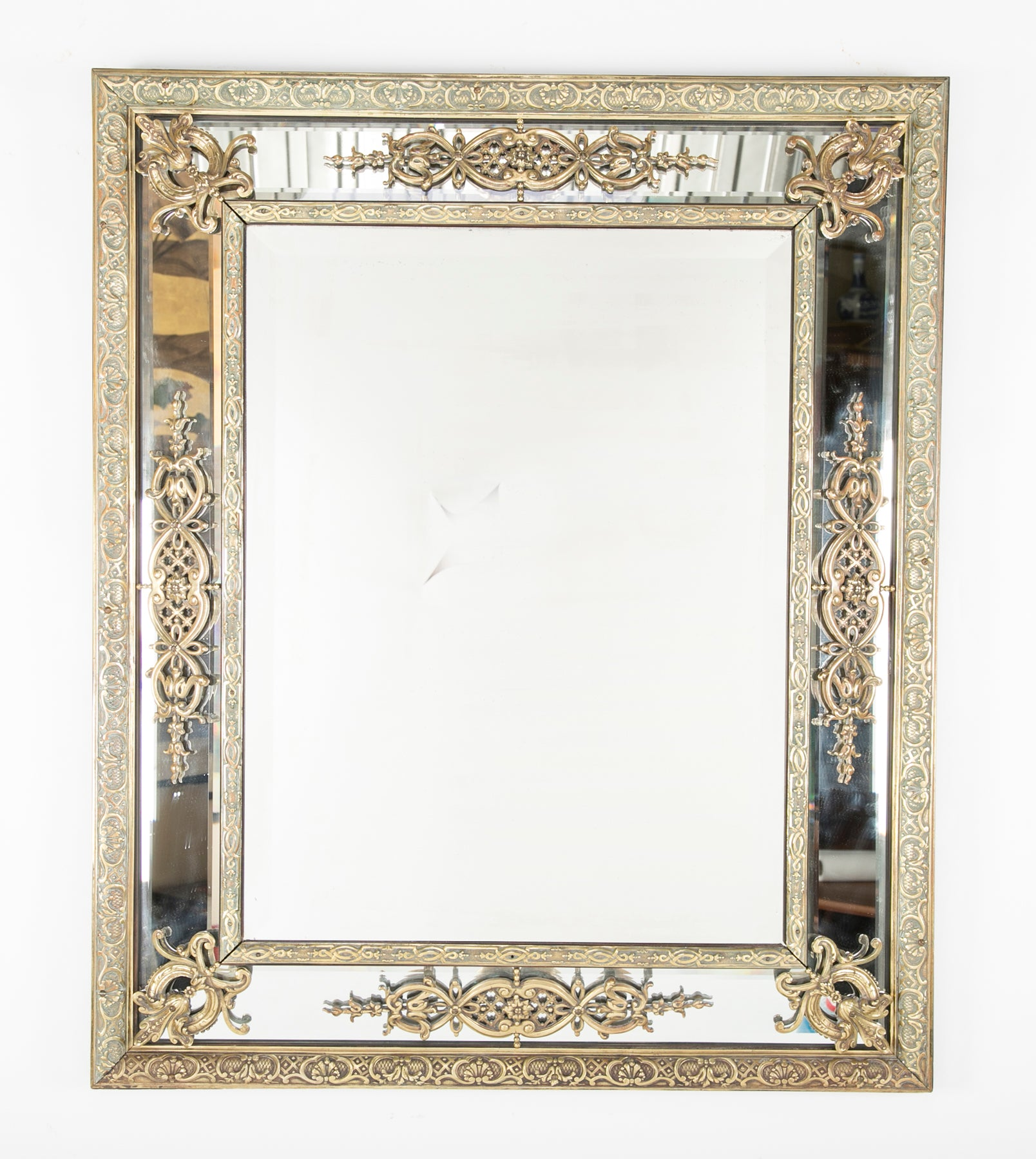 Continental Mirror with Mirrored Frame – Avery & Dash Collections