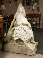 Carved Marble Fountain Sculpture
