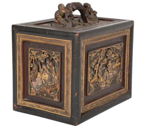 Late 19th Century Chinese Mahjong Box