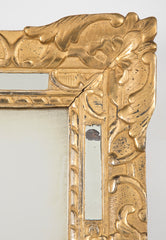 French Giltwood Regence Courting Mirror