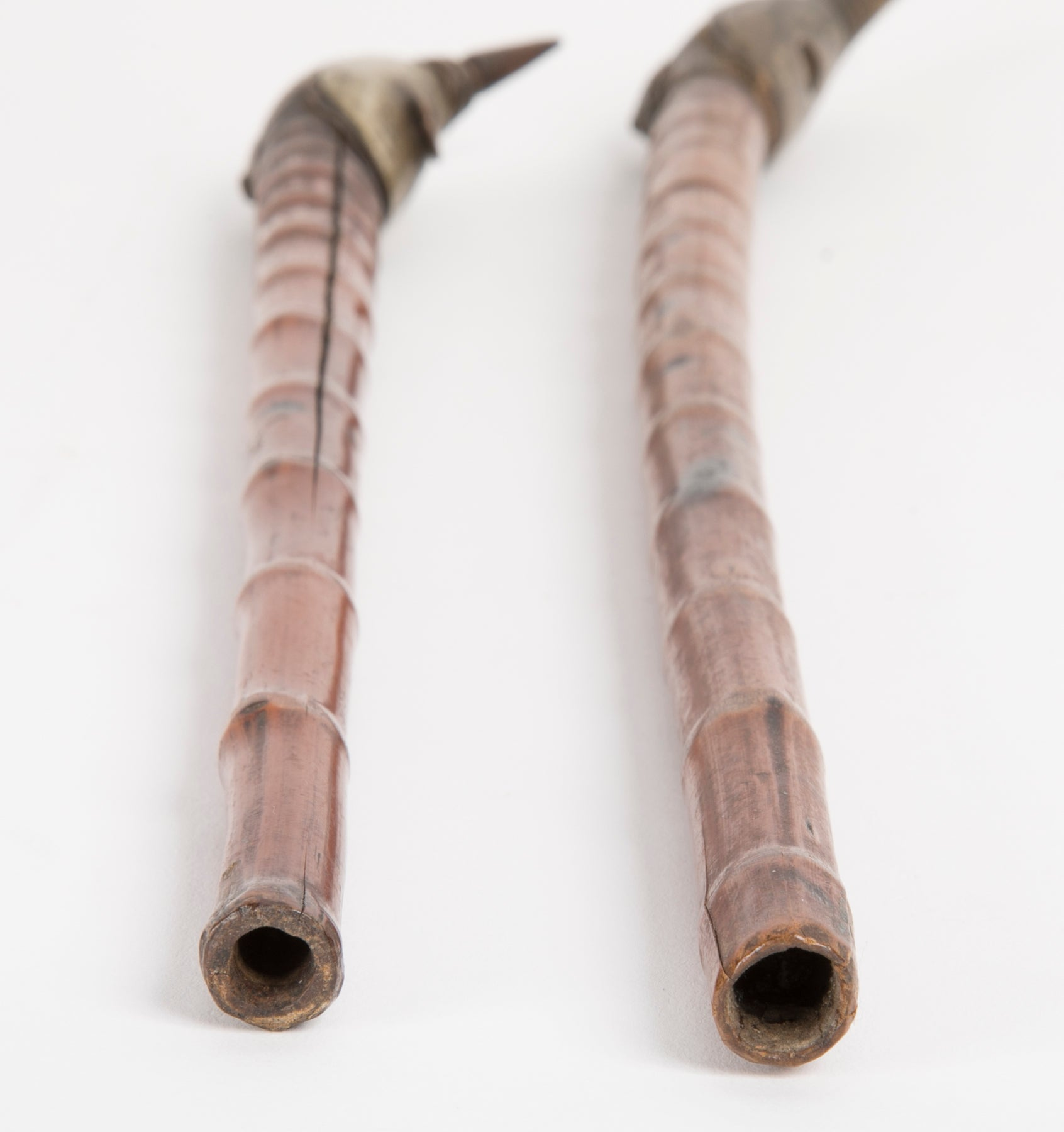 Pair of Early 19th Century Chinese Opium Pipes