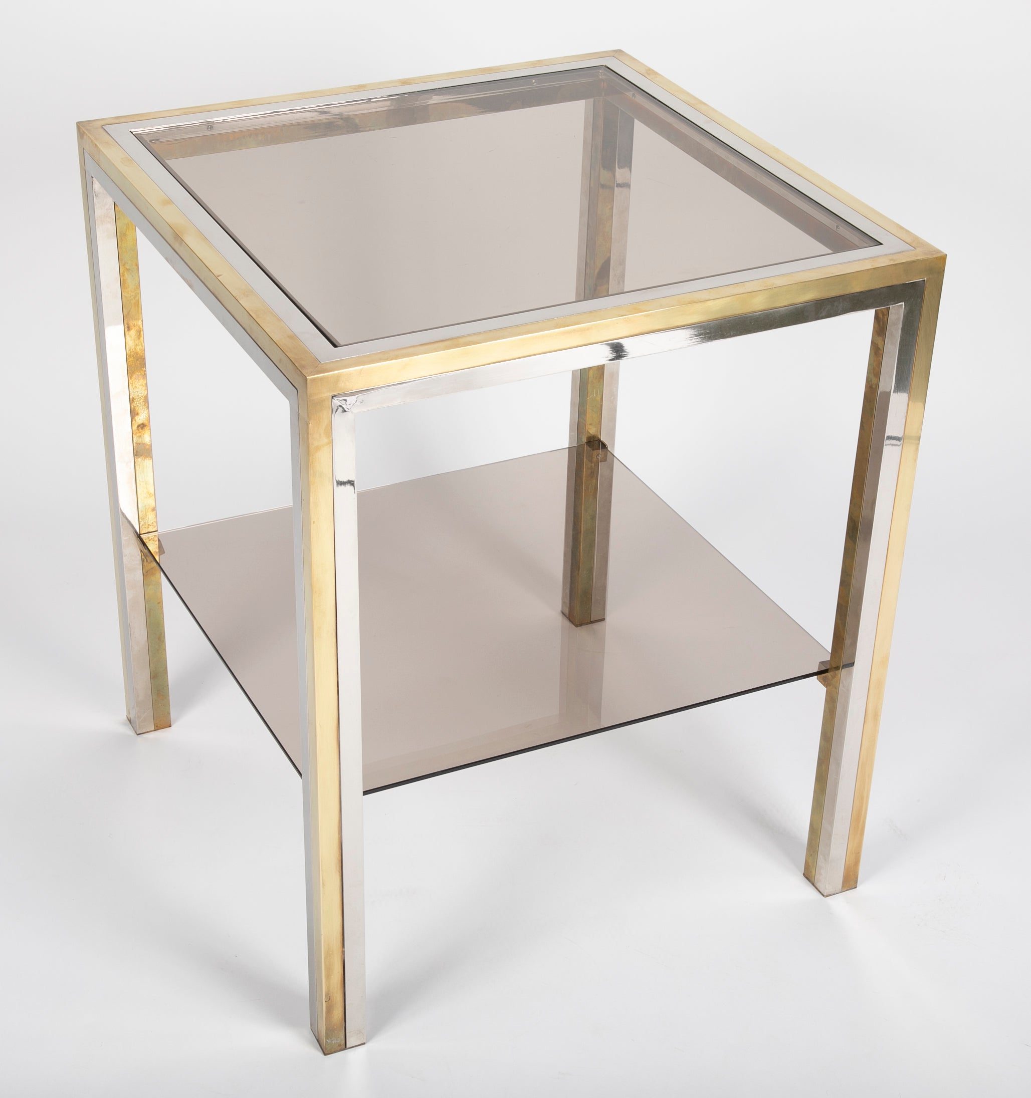 Chrome Side Tables