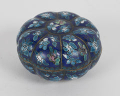 Chinese Gourd Shaped Cloisonne Box