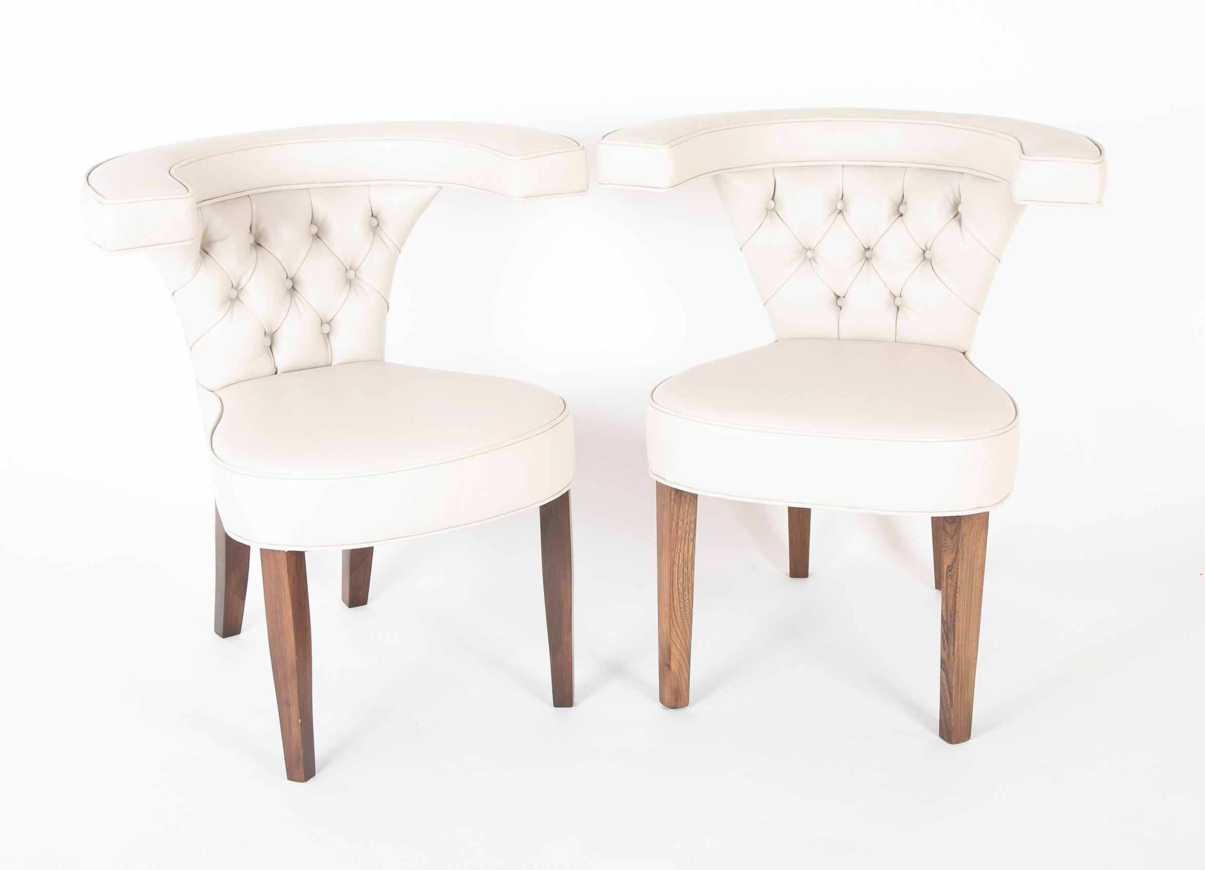 Pair of Edward Wormley  for Dunbar Armchairs