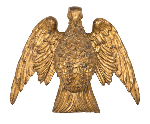 American Carved Gilt Wood Eagle