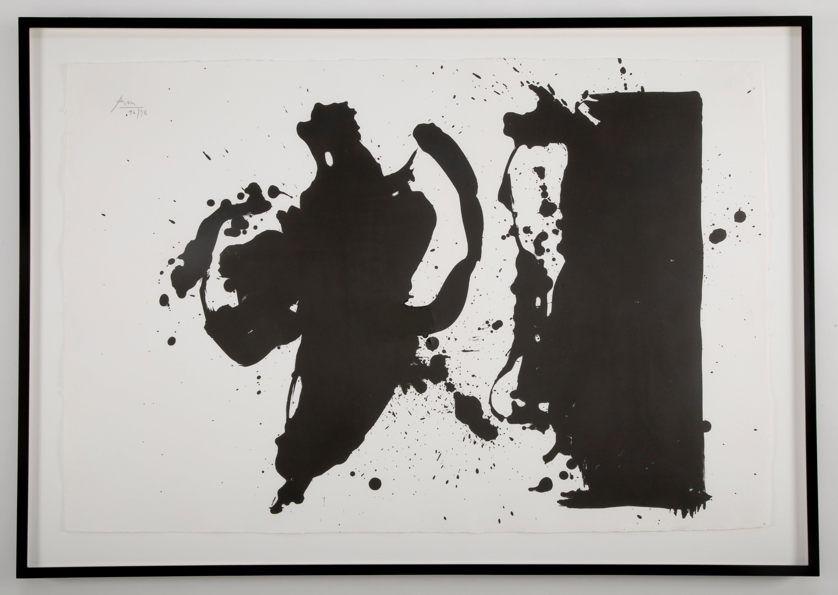 """Elegy (Study)"" by Robert Motherwell"
