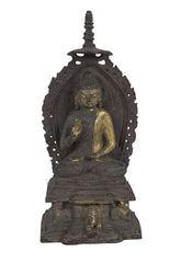 A late 19th Century Chinese Carving of Buddha