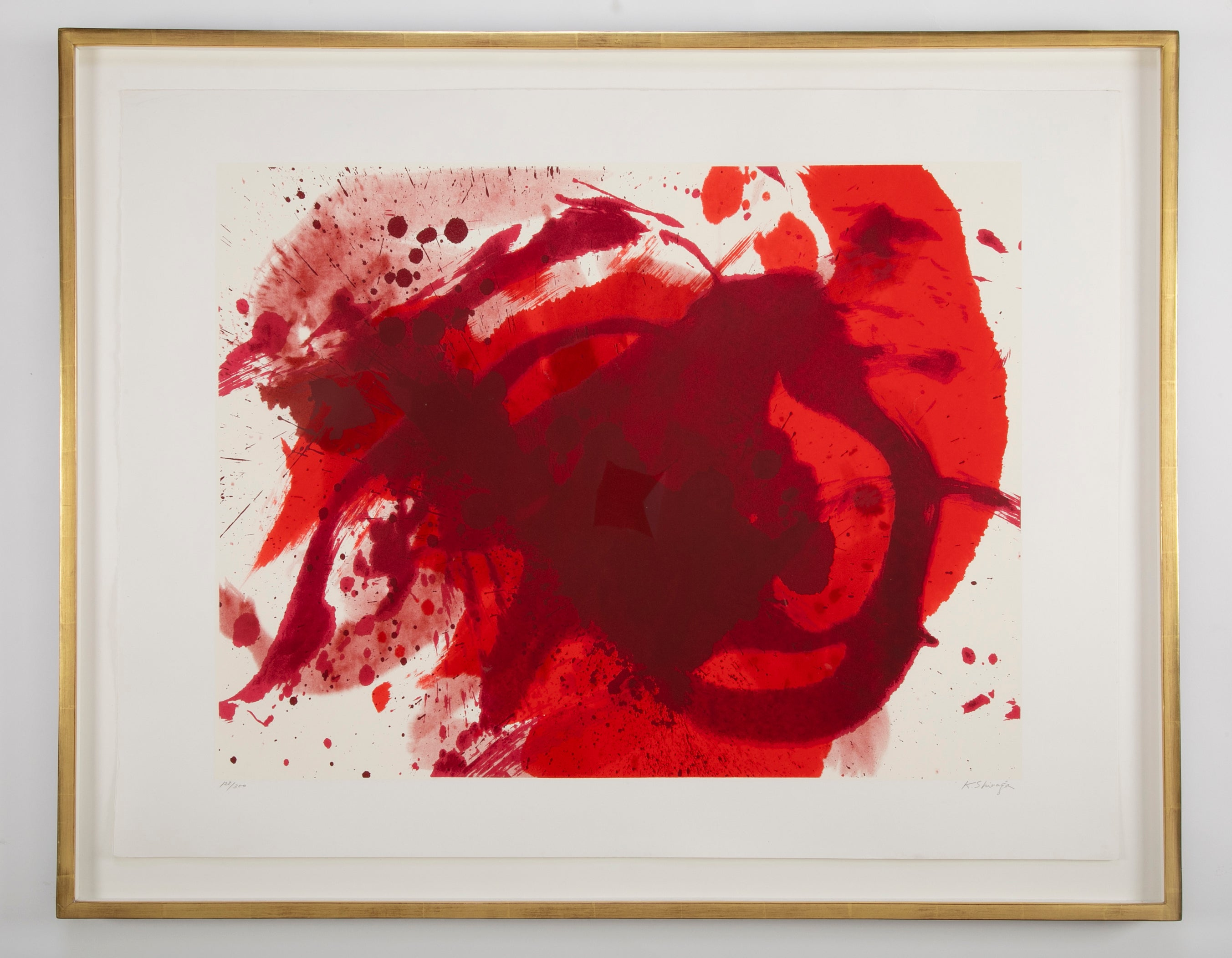 """Passionate Winner"" by Kazuo Shiraga ( Japanese, 1924 - 2008 )"