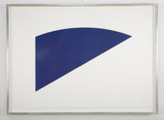 "Ellsworth Kelly Screenprint from ""Eight by Eight"""