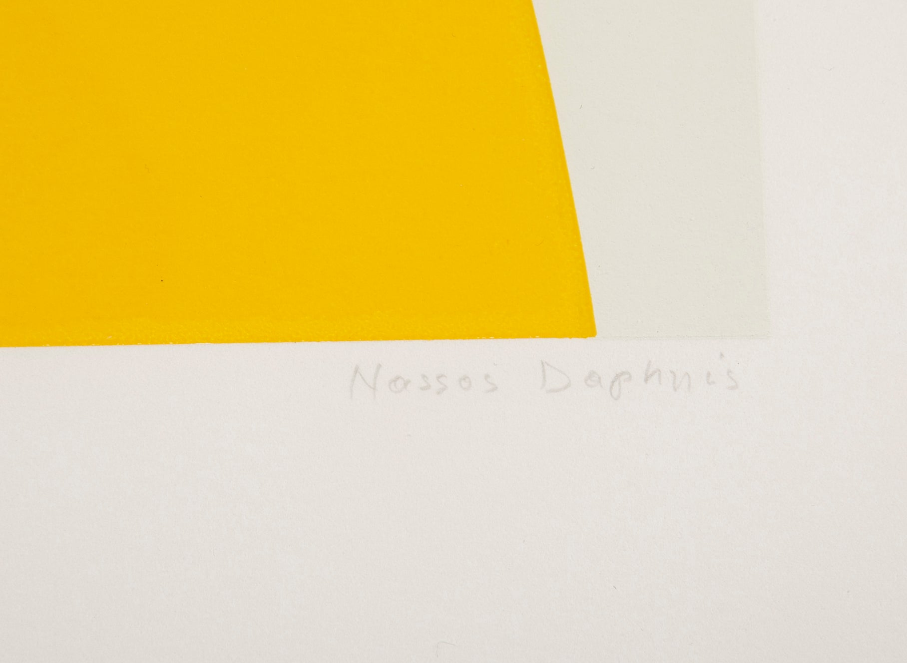 Set of Three Signed & Numbered Silkscreens by Nassos Daphnis