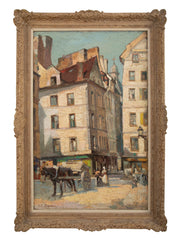 French Impressionist Painting by Achille-Abel Darras