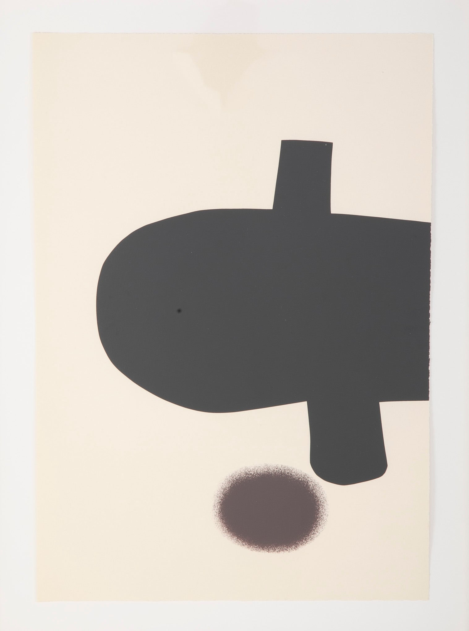 """The Dance of Man in Modern Times"" from the Portfolio by Victor Pasmore"