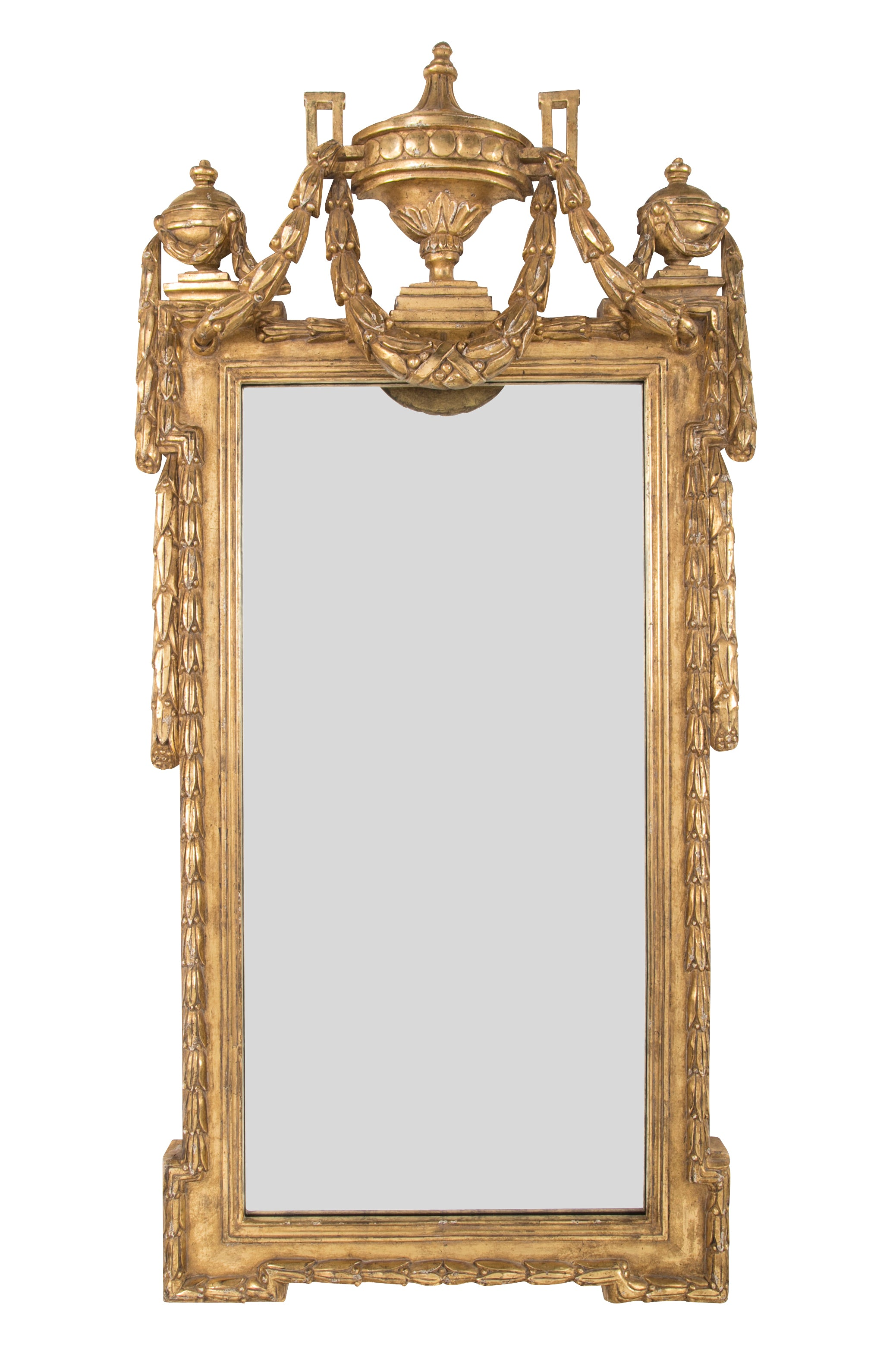 Pair of Georgian Style Water Gilt Mirrors