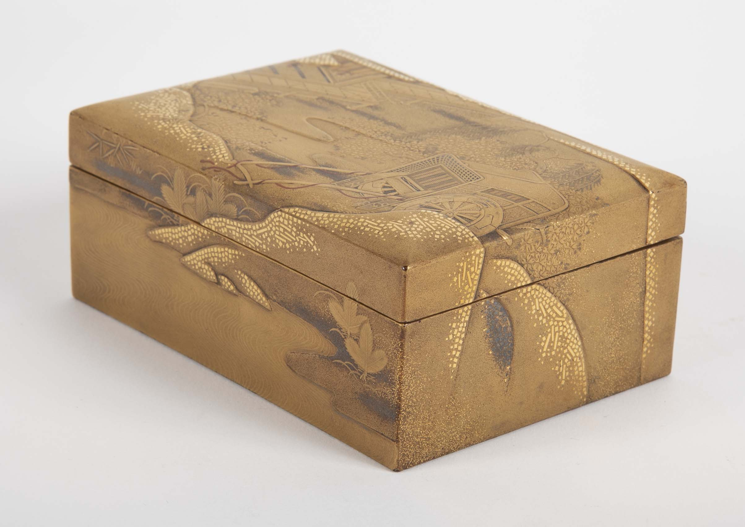 Very Fine 18th Century Japanese Lacquered Box