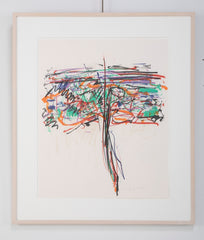 """Tree 1""  1992 Lithograph by Joan Mitchell"