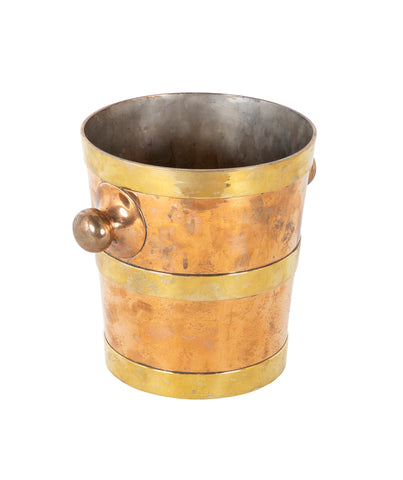 A Jos. Heinrichs Two Tone Bronze Ice Bucket