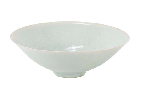 Exquisite Song Dynasty Qingbai Bowl with Pale Blue Glaze
