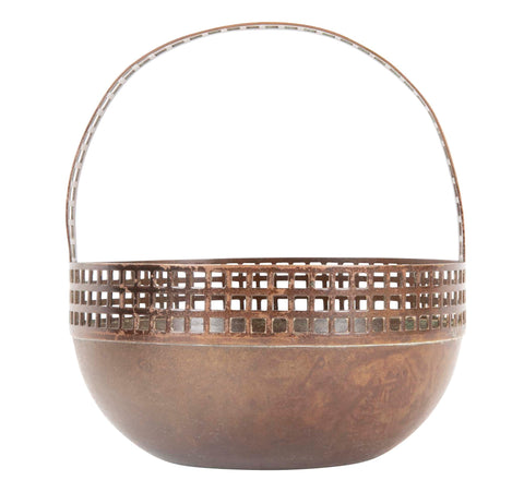 F & R Fischer Basket in the Manner of Josef Hoffmann