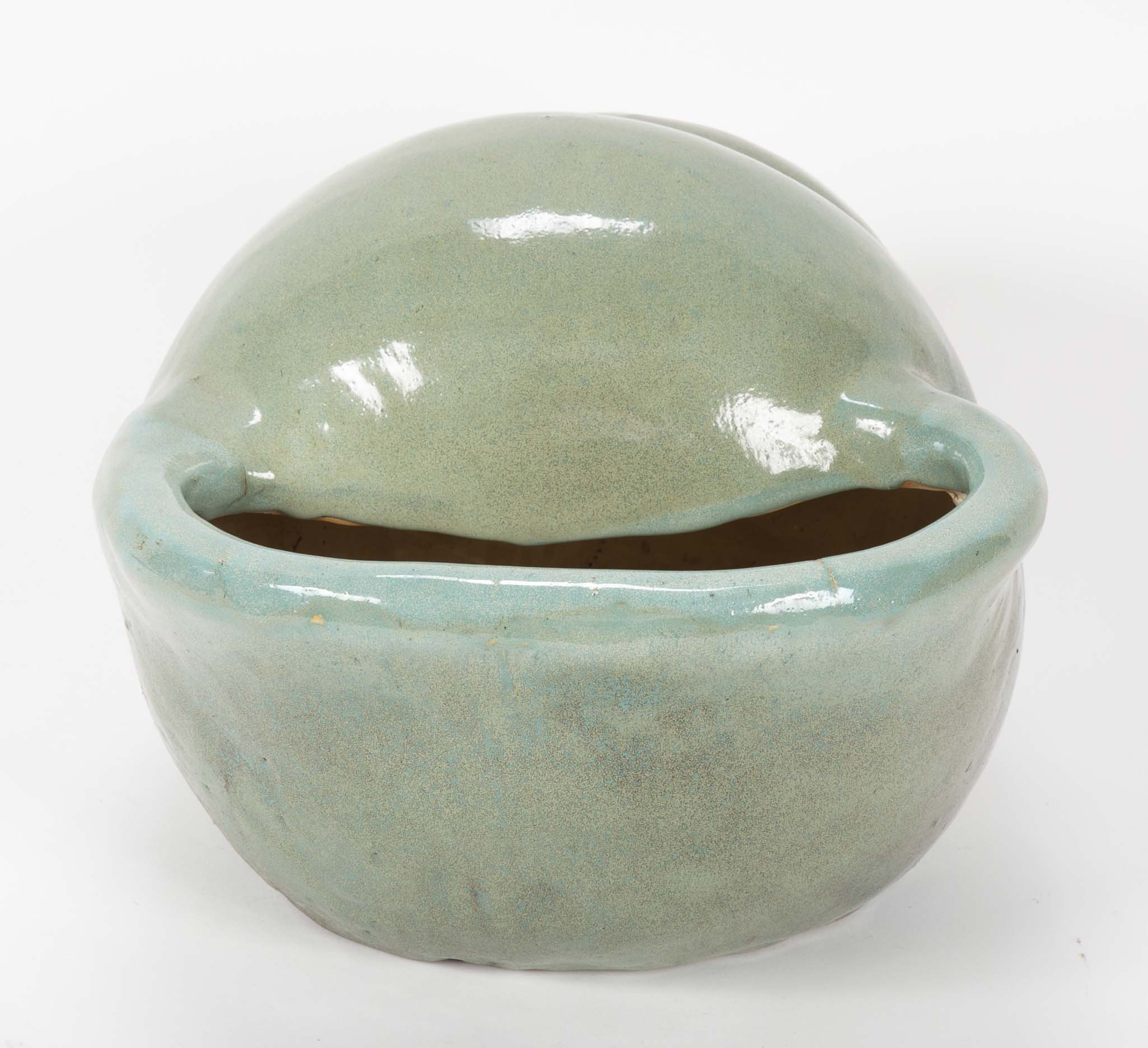 Shell Form American Art Pottery Planter
