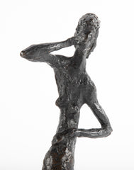 "Arlene Abend ""1963 Bronze of a Woman Standing"""