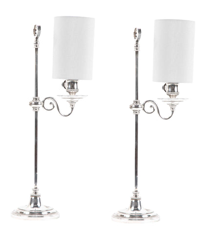 Pair Of Regency Style Reading Lamps