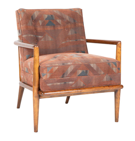 T.H. Robsjohn-Gibbings for Widdicomb Upholstered Armchair