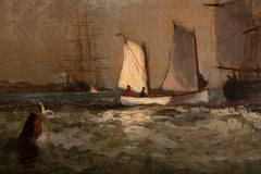 Maritime Painting by Marshall Johnson