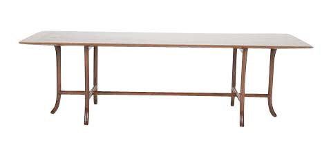 Walnut Coffee Table by T.H. Robsjohn-Gibbings