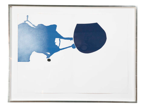 """Questions Without an Answer""  Screen Print by Victor Pasmore"