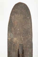 Western Mongo Shield from The Democratic Republic of Congo on Bronze Stand