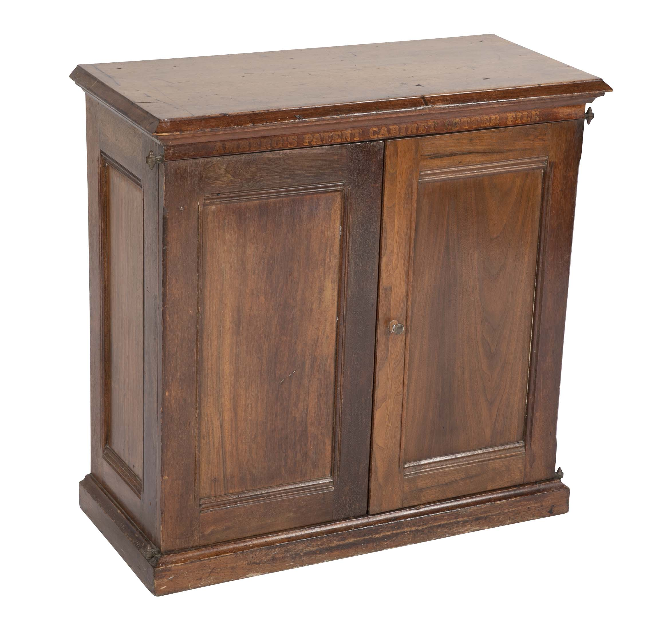 Shipyard Working Cabinet from Thames Tow Boatyard, New London, CT