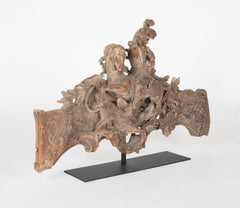French Rococo Carving of St George and the Dragon
