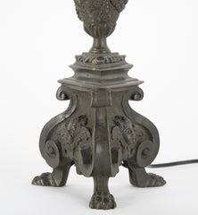 Pair of Italian Candlestick Lamps