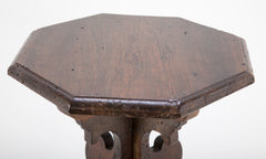 Italian Baroque Style Walnut Side Table