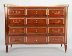 Louis XVI Style Mahogany Chest of Drawers